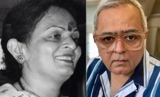 Hansal Mehtas mothers day wish